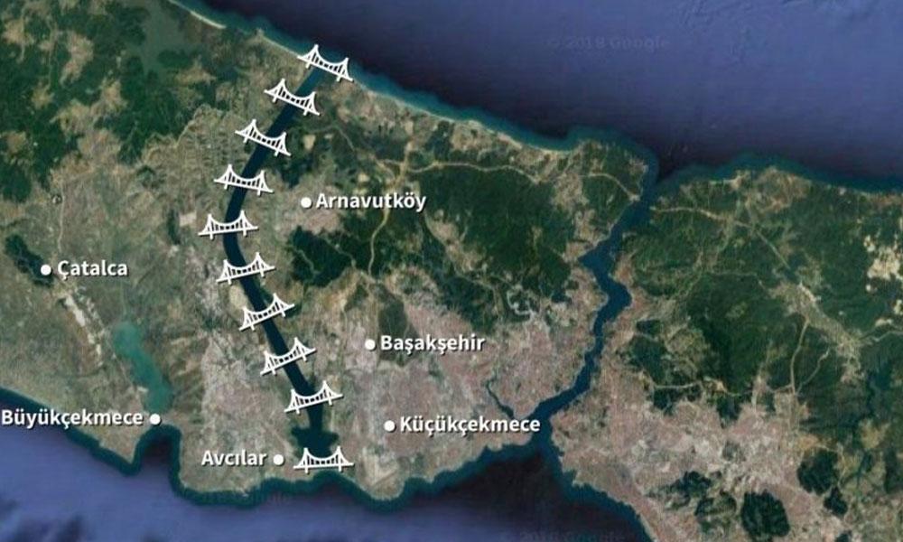 TMMOB: Kanal İstanbul Projesi insan eliyle hazırlanmış bir afet