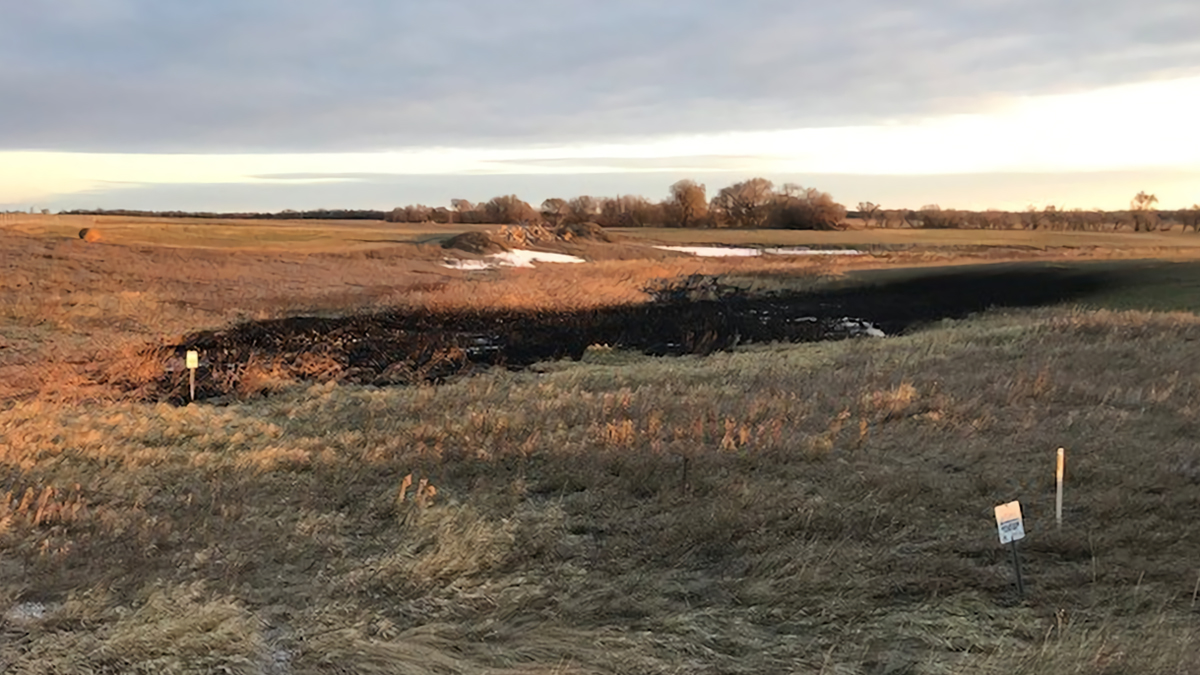 Dakota'da Bir Petrol Sızıntısı Daha: Yaklaşık 1.5 Milyon Litre