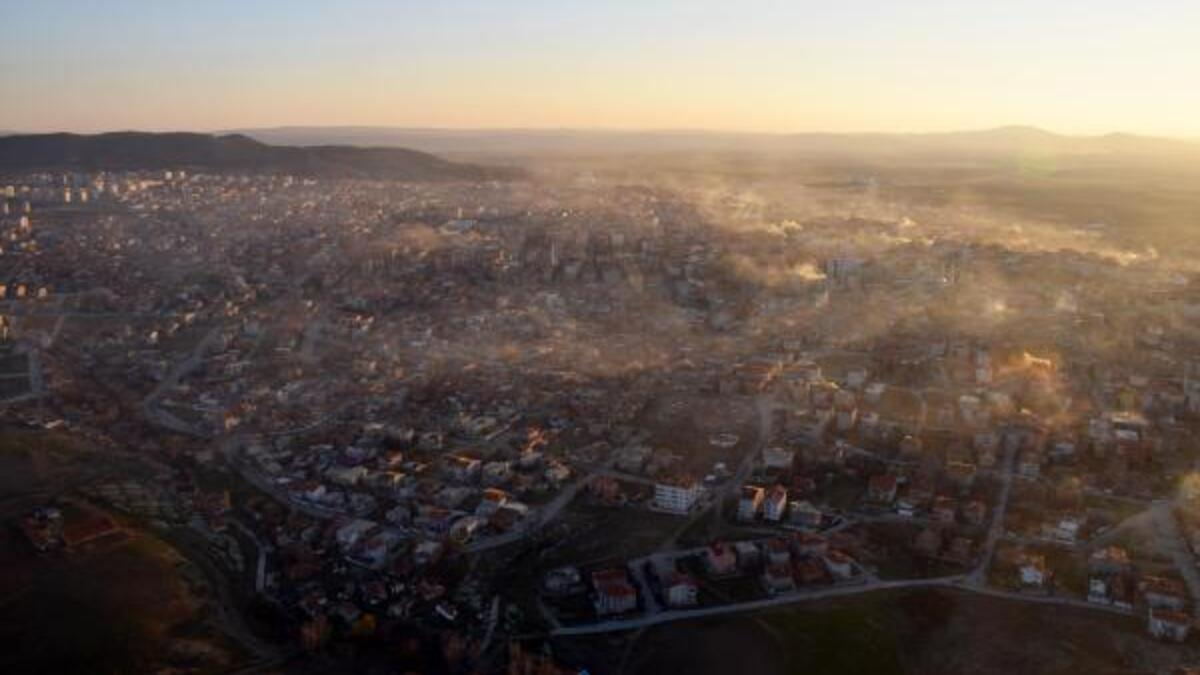 Sebep sanayi ve kömür kullanımı: Trakya'da hava kirliliği hassas seviyeye ulaştı