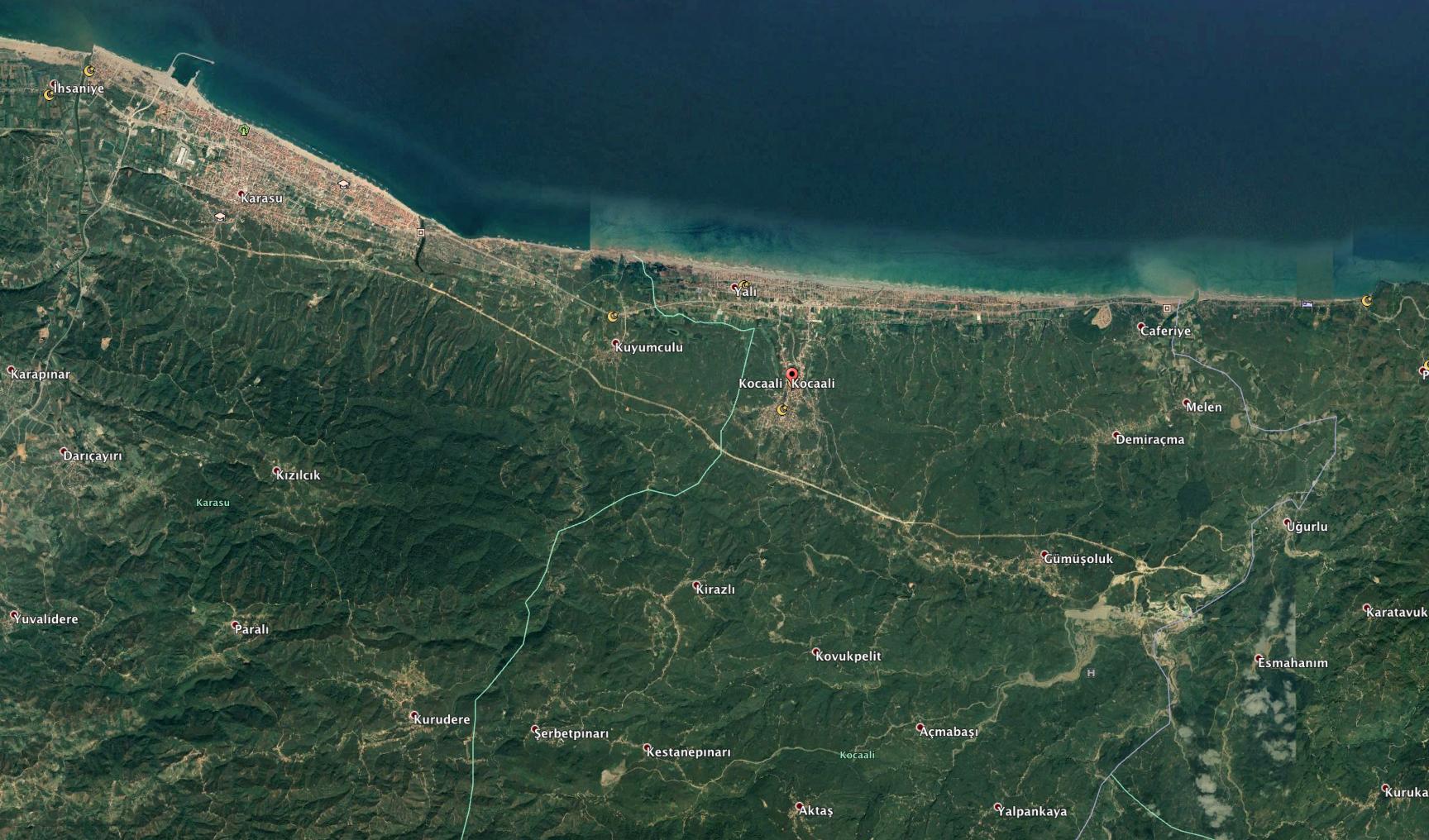 Kuzey Ormanları'na zehir vadisi: Bölgenin tüm su havzaları kimyasal atık tehdidi altına girecek.