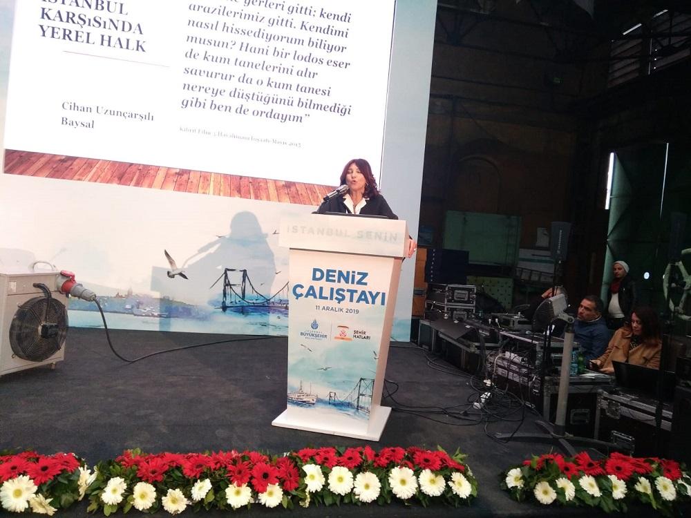 """Deniz Çalıştayında söz alan Cihan Uzunçarşılı Baysal'dan Kanal İstanbul değerlendirmesi; """"Oradaki yerel halk, her dönemin kovulan ve göç eden çocukları"""""""