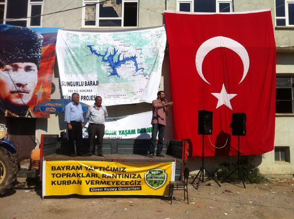 Köyleri sular altında bırakacak Sungurlu Barajı projesi kabul edildi