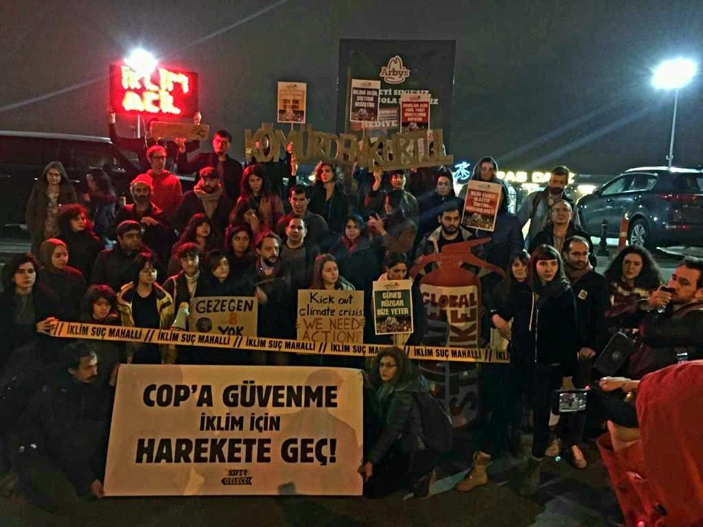 COP'a Güvenme İklim için Harekete Geç