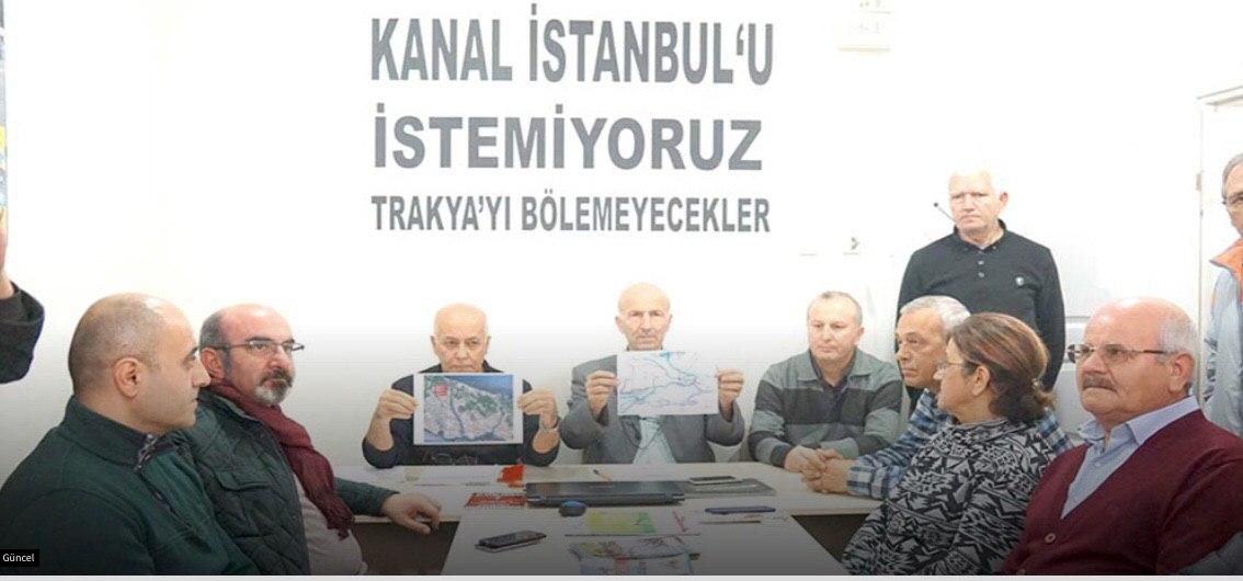 Edirneliler: Kanal İstanbul'u istemiyoruz, Trakya'yı bölemeyecekler