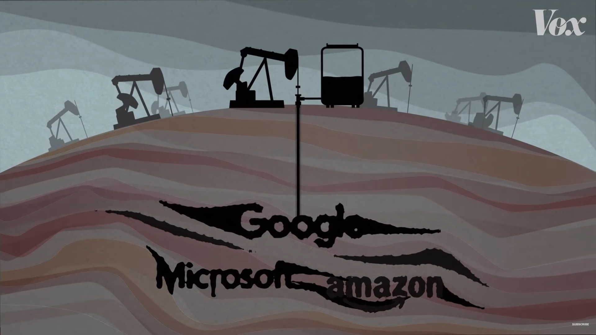 Google, Microsoft ve Amazon Petrol İşindeler