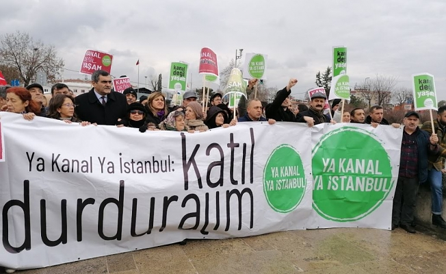 14 ekoloji örgütünden Kanal İstanbul ÇED raporuna dava