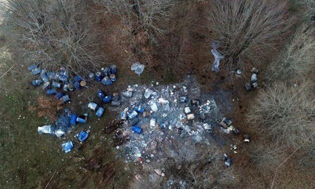 Kuzey Ormanlarına bırakılan varillere kimyasal madde incelemesi