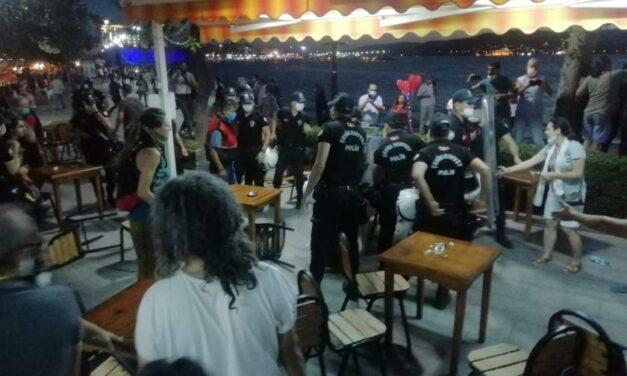 Çanakkale'de polis yaşam savunucularını darbederek gözaltına aldı