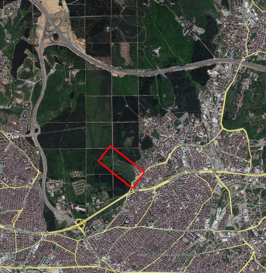 Haziran 2018 uydu görüntüsü