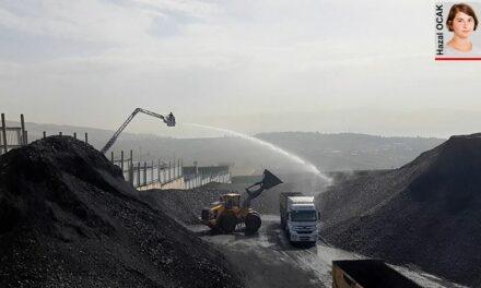 Sanayi işgali altındaki Dilovası'nda çıkan kömür yangını yurttaşları isyan ettirdi: Nefes alamıyoruz